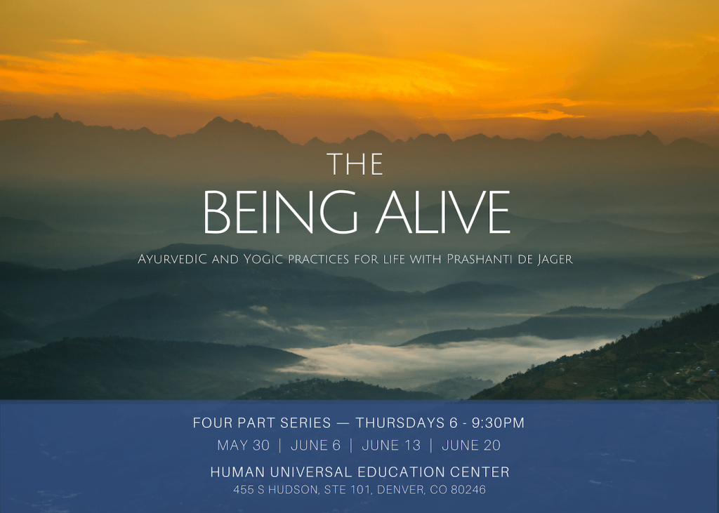The Being Alive